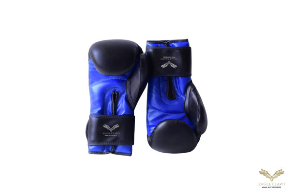 Pu leather Gloves Blue